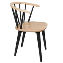 Inside75 - Chaise design Glee noire