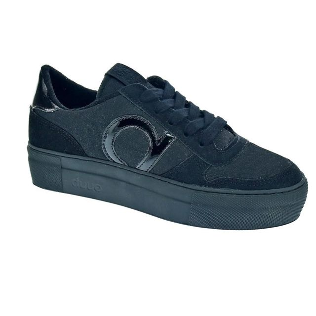 Duuo Chaussures Femme Baskets basses modele Radio High 009