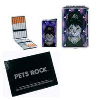 Pets Rock - Set Cadeau Briquet + Etui A Cigarette - Audrey