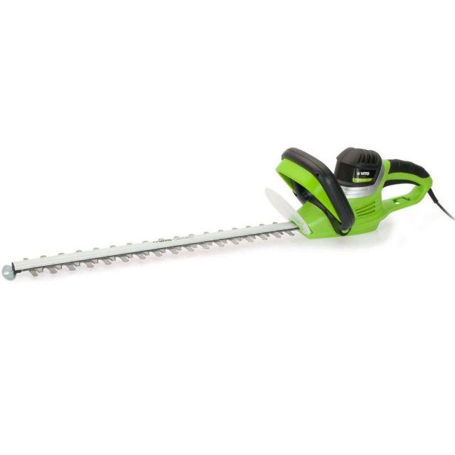 Vito Garden Taille haies 600W Vitogarden Lame 59cm - Protection lame et mains - écart dents 20mm - 1600 tr/min