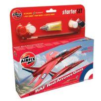 Airfix - Maquette avion : Starter Set : Red Arrow Gnat