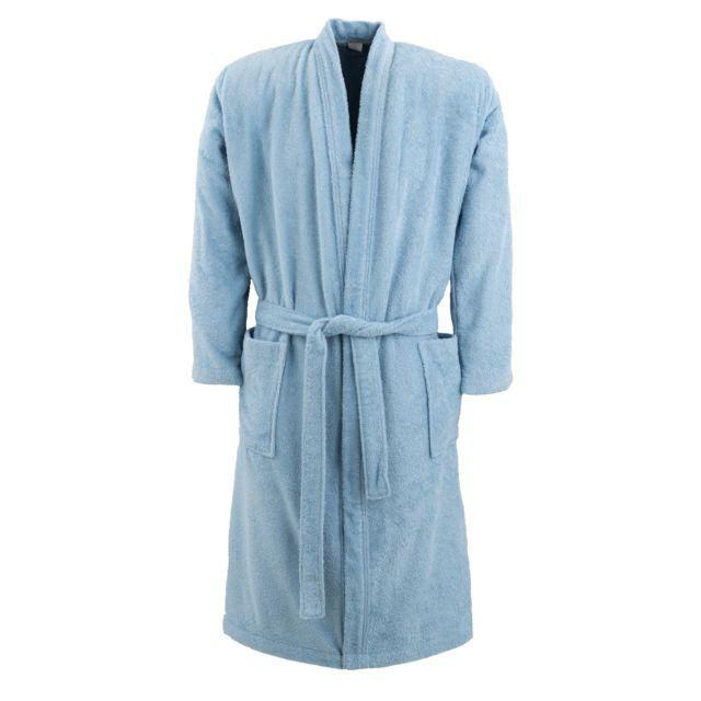 8c43a2165ae TEX HOME - Peignoir éponge Bath 100% Coton - pas cher Achat   Vente ...