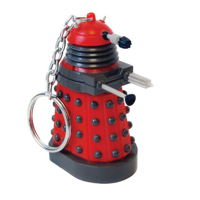 Kas Design Porte-Clés Lumineux Dalek Dr Who