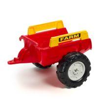 Falquet - Remorque de tracteur Farm rouge