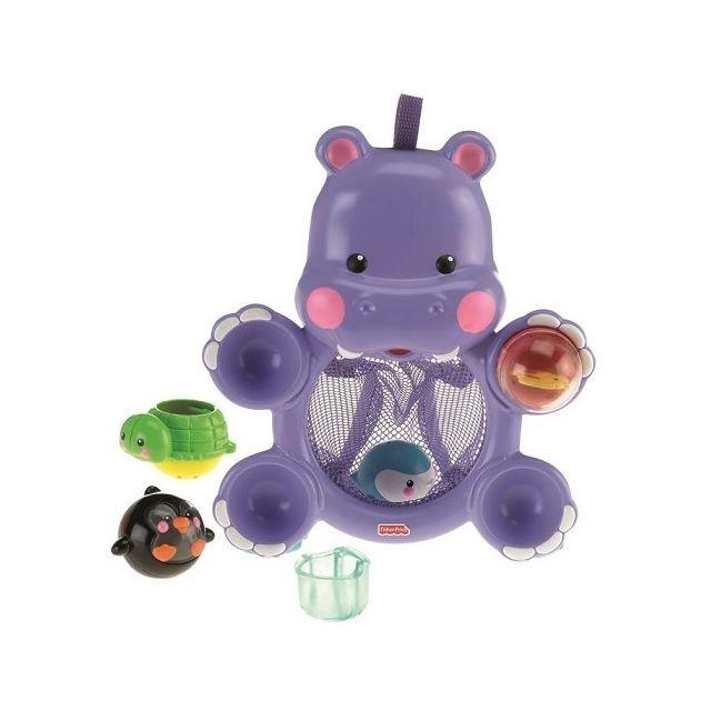 Fisher Price Hippo Rigolo De Bain - Jouet De Bain - 4 Activite