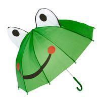 Totalcadeau - Parapluie grenouille pour enfant