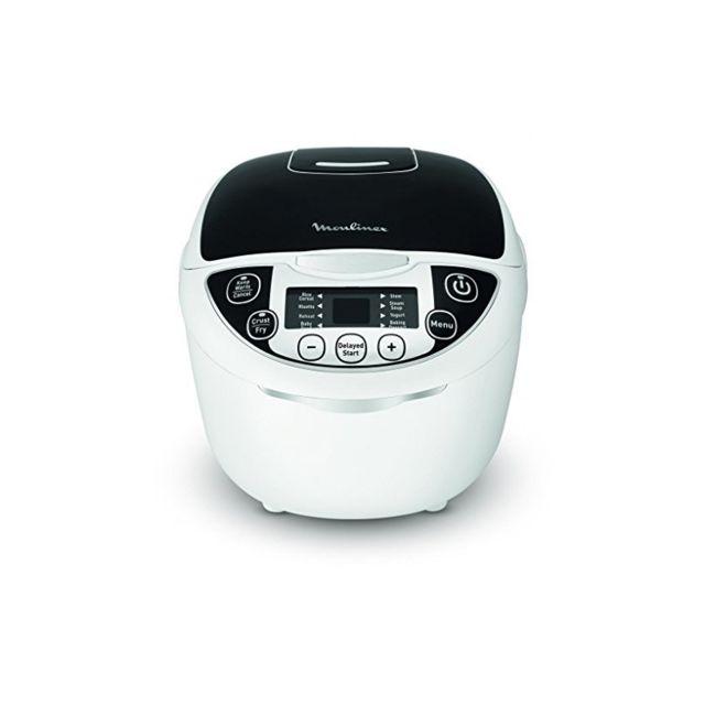 Moulinex Robot de Cuisine Multicooker Mk708820 - Capacité 5 l, 750 W, 12 Fonctions
