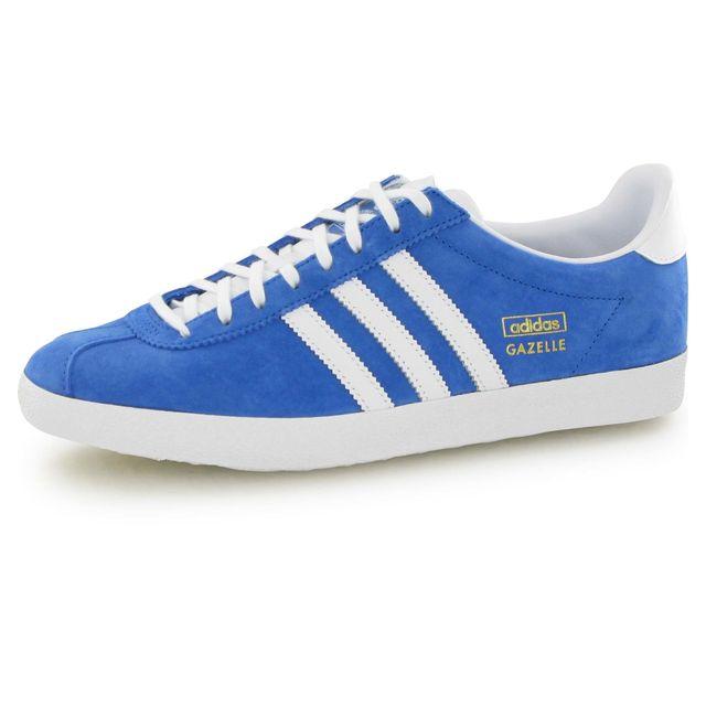 Adidas originals Gazelle Og bleu, baskets mode homme pas