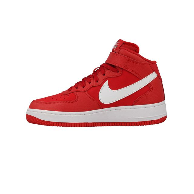 free shipping 0e2eb cae3d Nike - Basket Air Force 1 Mid Junior - Ref. 314195-604 39 - pas cher Achat    Vente Baskets enfant - RueDuCommerce