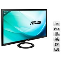 ASUS - VX278Q 27'' Low Blue Light + Flicker Free