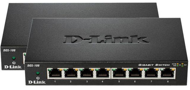 D-link Dgs-108x2