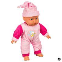 Be Toys - Go Babies - Poupon Bébé câlin - 6 Sons - Rose