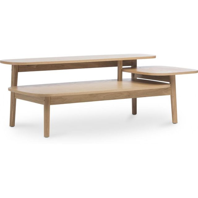 Privatefloor Table basse à trois niveaux style scandinave