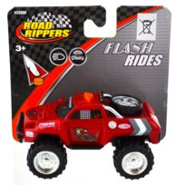 Toystate - Pick up Road Rippers : Flash Rides : rouge avec roue dans la remorque