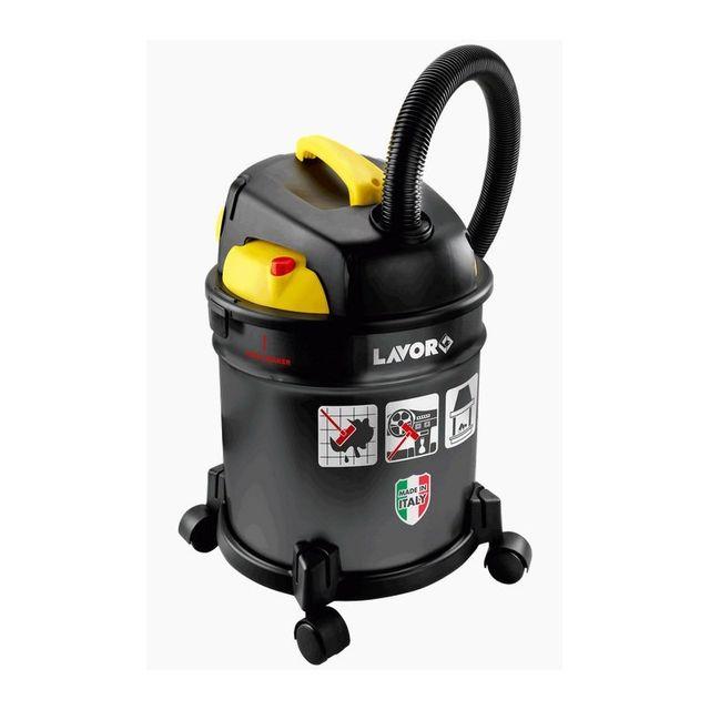 Lavor Aspirateur Multifonctions 4in1 Freddy 1000W Cendres Eau Poussière + soufflant Filtre lavable Cuve 20L