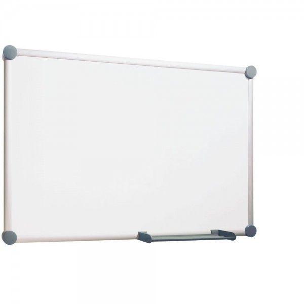 Hebel Tableau Blanc Magnétique Mural 2000 Cadre Gris émaillé