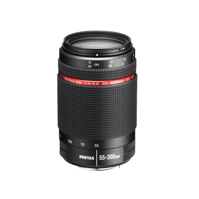 PENTAX Télézoom HD DA 55-300mm F4-5.8 WR
