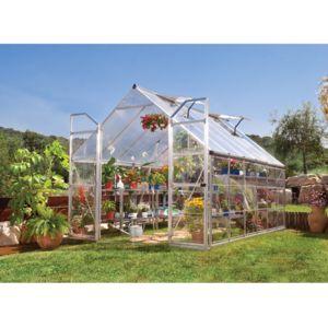 habitat et jardin serre en polycarbonate balance 8 8 m pas cher achat vente serres en. Black Bedroom Furniture Sets. Home Design Ideas