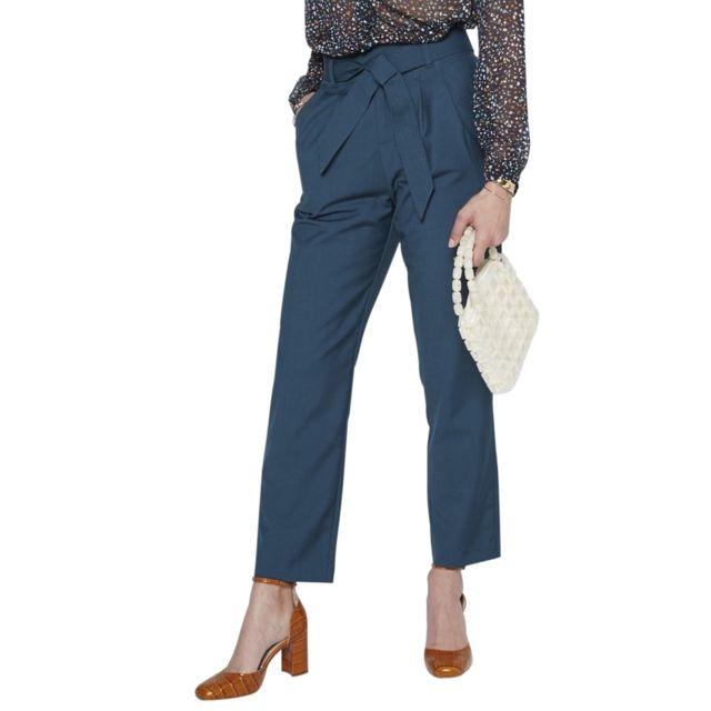 GRACE&MILA Pantalon Taille Haute Tandem