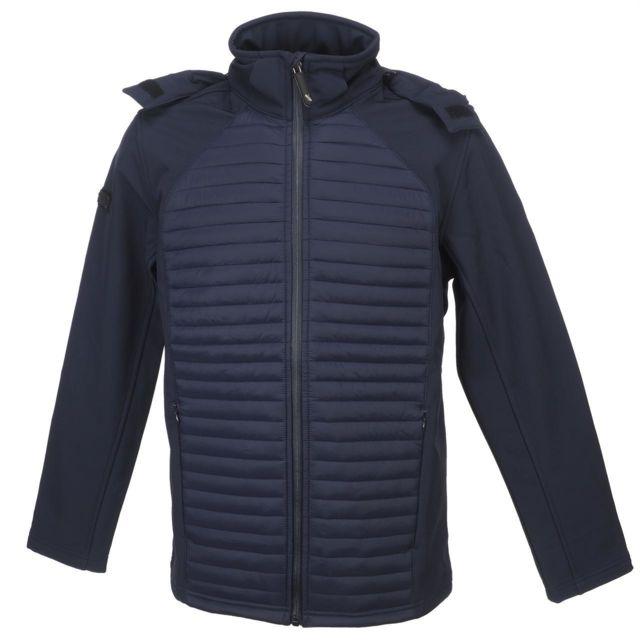 Alpes Vertigo Softshell vestes Murak navy softshell Bleu 14532