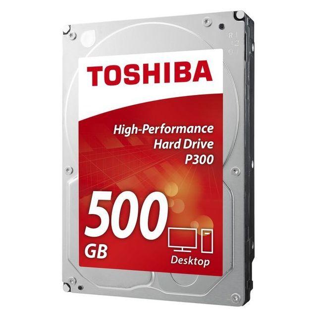 Toshiba P300 P300 3.5 pcs 500 Go 7200 rpm Cache 64 Mo Bulk version (sans boite)