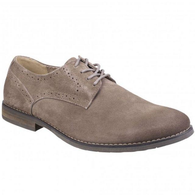 Hush Puppies Chaussures en daim Sean - Homme 45 Eur, Bleu marine Utfs5471