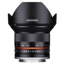Samyang - 12 mm f/2 Ncs Cs Fujifilm X Garanti 2 Ans