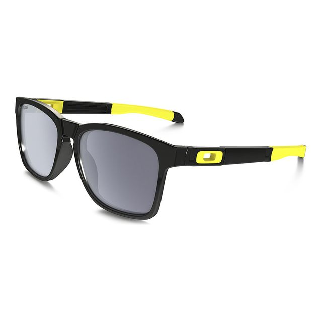 Oakley - Lunettes Catalyst Vr46 Valentino Rossi noir polished à verres Gray  - pas cher Achat   Vente Lunettes - RueDuCommerce 10af95e3c7f6