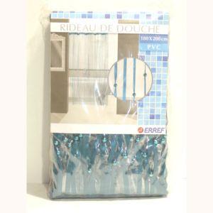erref rideau de douche ruban turquoise pas cher achat vente rideaux douche rueducommerce. Black Bedroom Furniture Sets. Home Design Ideas
