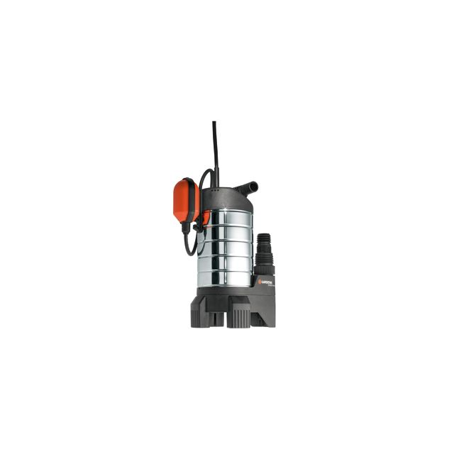 1489-20 en acier inoxydable pompe immerg/ée automatique avec protection int/égr/ée contre la marche /à sec GARDENA Pompe immerg/ée de forage 5500//5 inox Premium/: d/ébit de 5/500 l//h