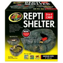 Zoomed - Grotte Repti Shelter pour Reptiles M