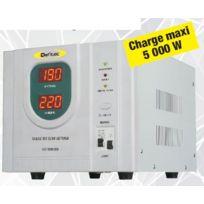 Defitec - Stabilisateur de courant technologie Inverter 5000W - Defi'STAB 5000