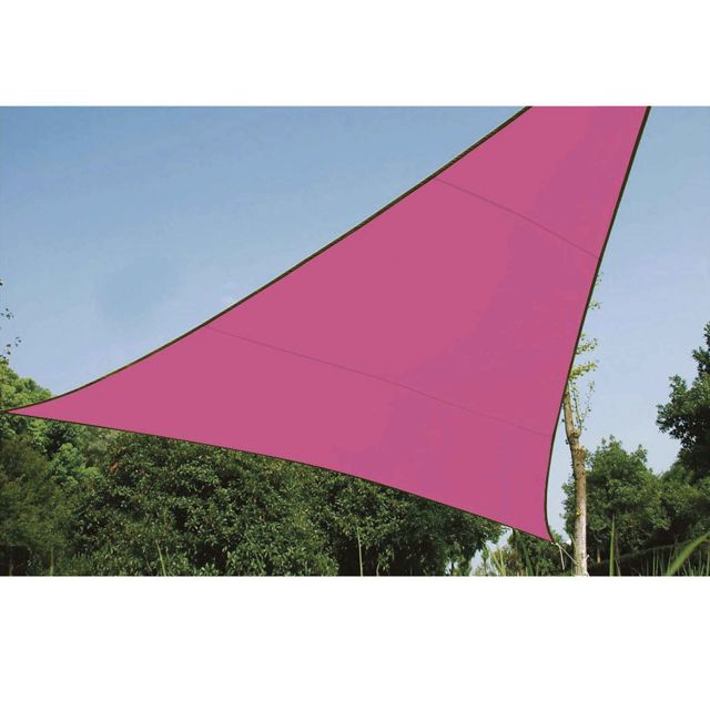 Provence Outillage Voile d'ombrage triangle 5m rose