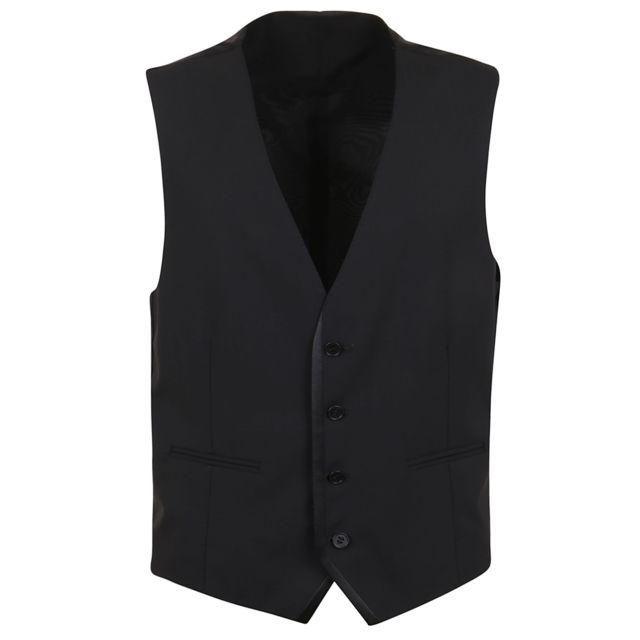 Tonello Homme 01L035K1063990 Noir Coton Gilet