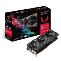 Asus - Carte graphique Radeon Rx Vega 64 Rog Strix O8G Gaming, 8192 Mb Hbm2