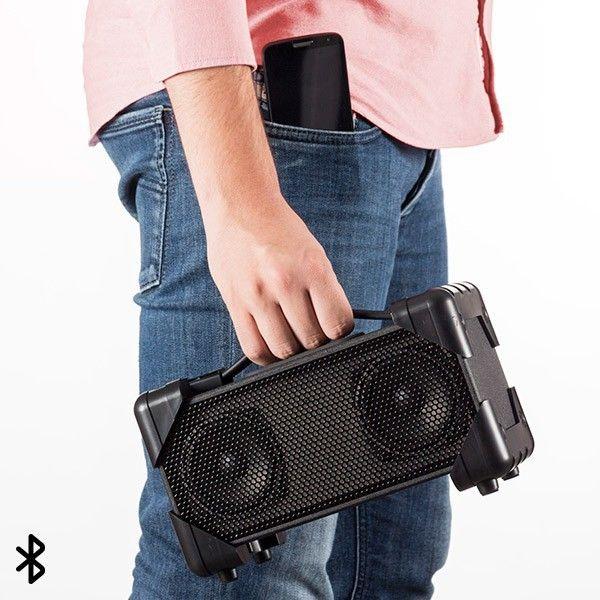 Totalcadeau Enceinte Speaker Bluetooth hi-fi - Entrée audio, batterie rechargeable rapidement