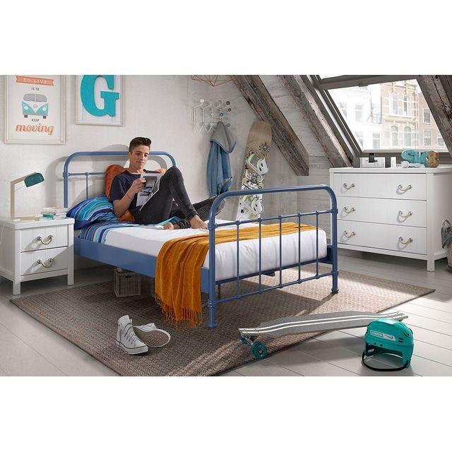 COMFORIUM - Ensemble 3 pièces pour chambre enfant moderne avec lit ...