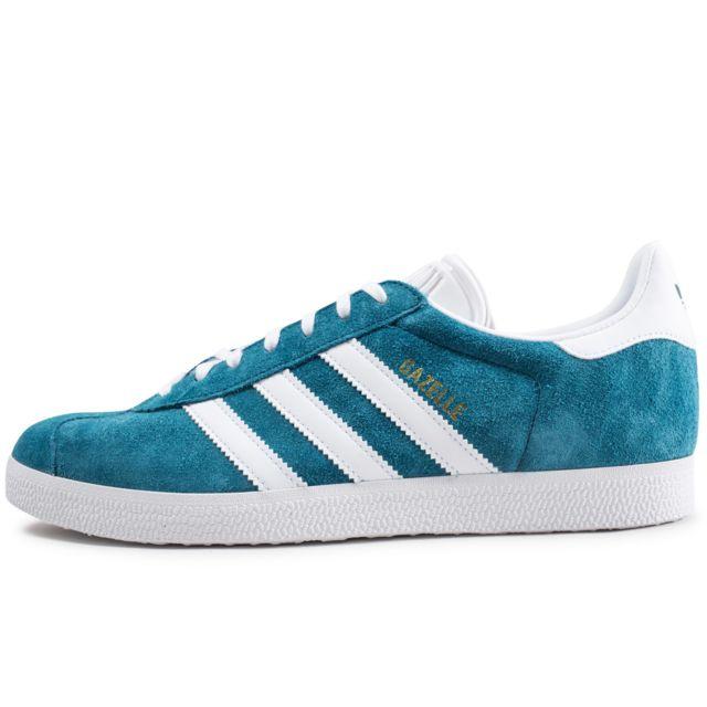 Adidas originals Gazelle Bleu Pétrole pas cher Achat