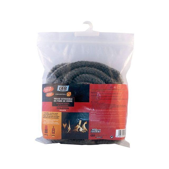 GEB tresse fibre verre extensible d.14mmx5m - 832790