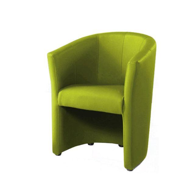 Nouvomeuble Fauteuil cabriolet vert Phoenix 11
