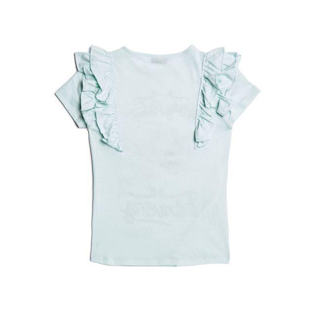 0f304d11d516c Guess - T-shirt Fille Vert Clair - Taille - 7 ans - pas cher Achat ...
