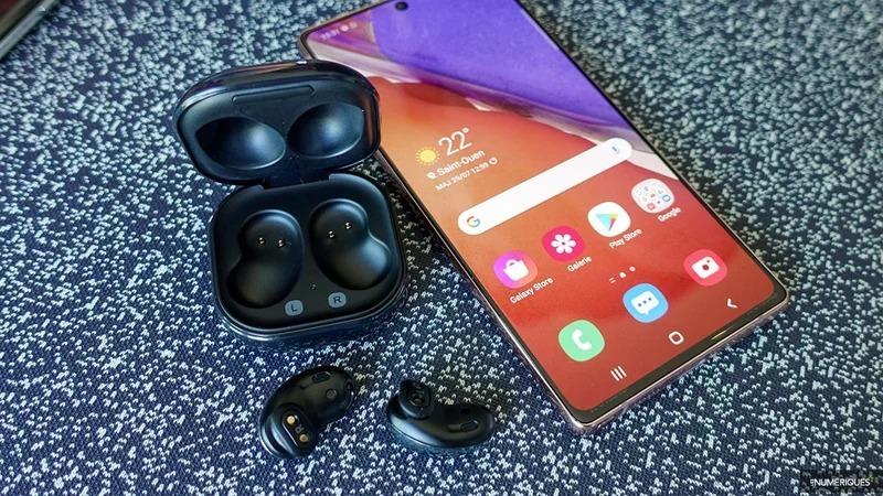 Galaxy Buds Live - Ecouteurs True Wireless - Noir