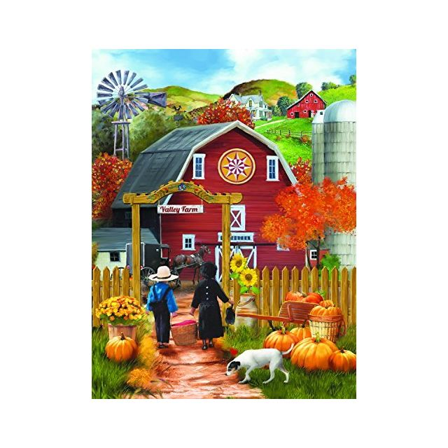 Sunsout Valley Farm 500 Piece Jigsaw Puzzle by