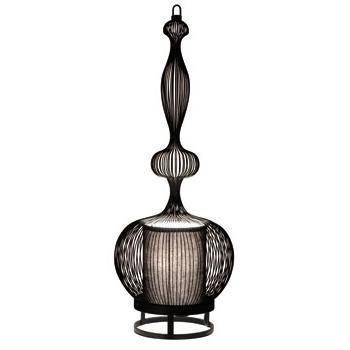Forestier imperatrice lampe à poser métal noir h66cm lampe à poser designé par