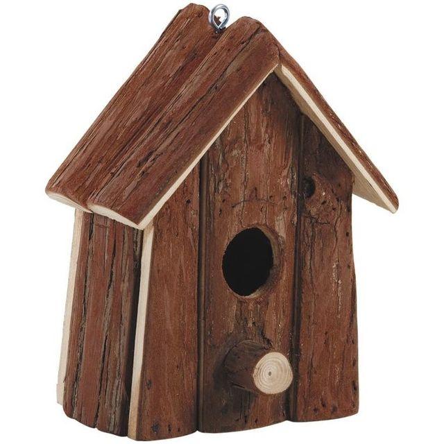 aubry gaspard nichoir oiseaux en ecorces de bois pas cher achat vente nichoir pour. Black Bedroom Furniture Sets. Home Design Ideas