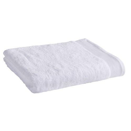 tex home drap de douche en coton durable blanc 140cm x 70cm pas cher achat vente. Black Bedroom Furniture Sets. Home Design Ideas