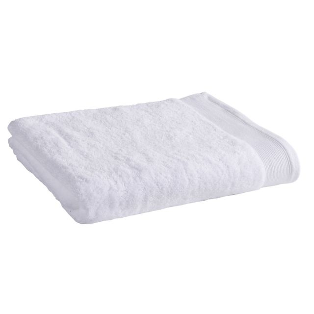 TEX HOME Drap de douche en coton durable Drap de douche en coton durable 70x140 cm - blanc