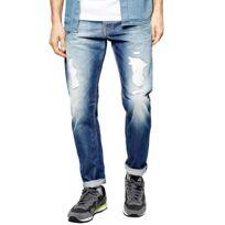Steele Longueur 32 Jeans Homme - Taille 30 - Bleu