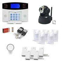 SecuriteGOODdeal - Alarme maison sans fil, 99 zones Xl et caméra Ip