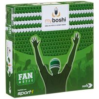 Noris Spiele - My Boshi 606311348-BONNET De Supporter Aux Couleurs Du Club Vert/BLANC